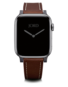 Apple Watch Band - Dark Walnut Leather