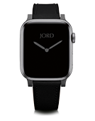 Apple Watch Band - Double Black Leather