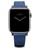 Apple Watch Band - Winter Blue Leather