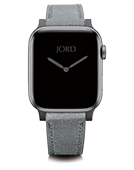 Apple Watch Band - Shuttle Grey Leather