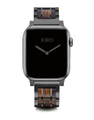 Apple Watch Band - Shedua & Space Gray Gunmetal