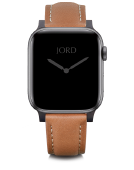 Apple Watch Band - Camel Padded Leather
