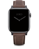 Apple Watch Band - Mocha Padded Leather