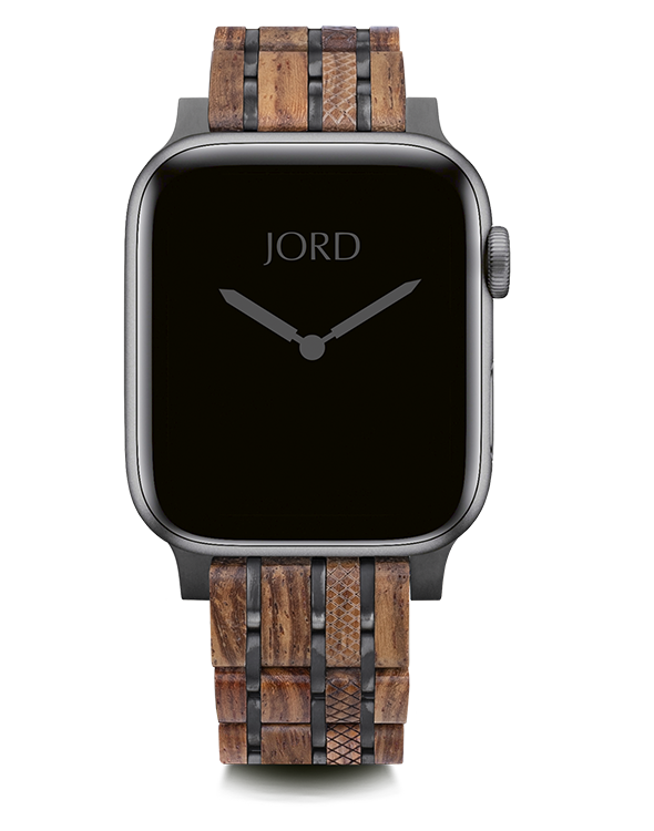 Kosso and metal apple watch band