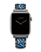 Karson Apple Band L - Bluejay & Gunmetal