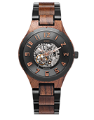 Dover II - Walnut & Gunmetal Wood Watch by JORD