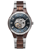 Dover II - Sandalwood & Stainless Wood Watch by JORD