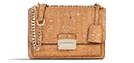 Emilie - Natural & Gold Medium Crossbody