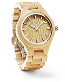Fieldcrest - Maple Wood Watch by JORD