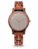 Frankie 38 - Koa & Almond Wood Watch by JORD