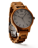 Frankie - Koa & Ash Wood Watch by JORD
