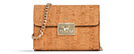 Haifa - Natural & Gold Small Crossbody