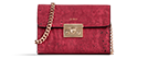 Haifa - Eros Red & Gold Small Crossbody