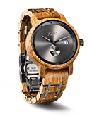 Hyde - Kosso & Gray Wood Watch by JORD
