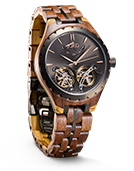 Meridian - Dusk Wood Watch by JORD