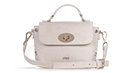 Nina - Vintage Blanc & Gold Top Handle Crossbody