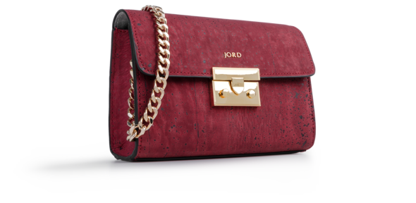 Haifa - Eros Red & Gold Small Crossbody 1