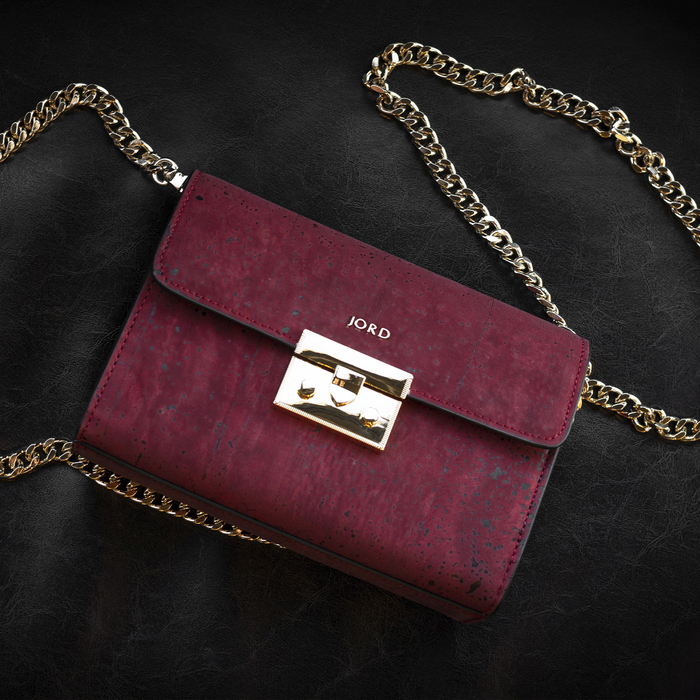 Haifa - Eros Red & Gold Small Crossbody 3